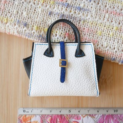 Bag white-black-blue 4